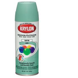 shop krylon 12 oz jade satin spray paint at. Black Bedroom Furniture Sets. Home Design Ideas