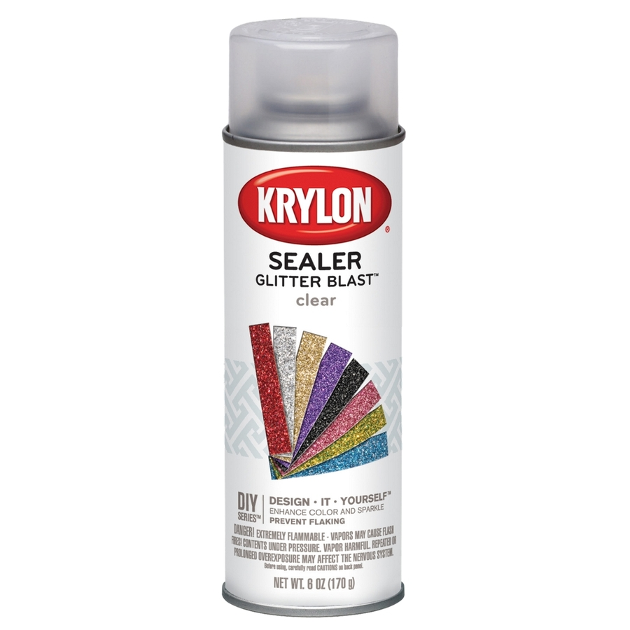 shop krylon 575 oz clear sealer gloss spray paint at. Black Bedroom Furniture Sets. Home Design Ideas
