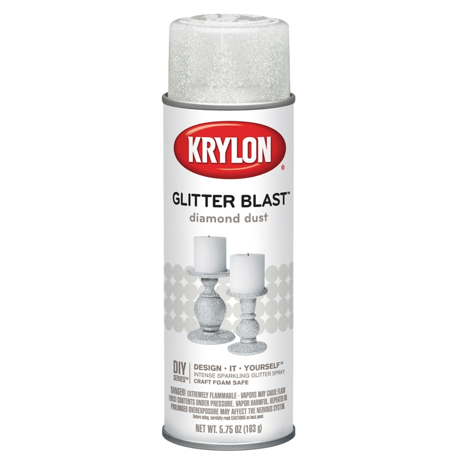Shop Krylon 575 Oz Diamond Dust Gloss Spray Paint At