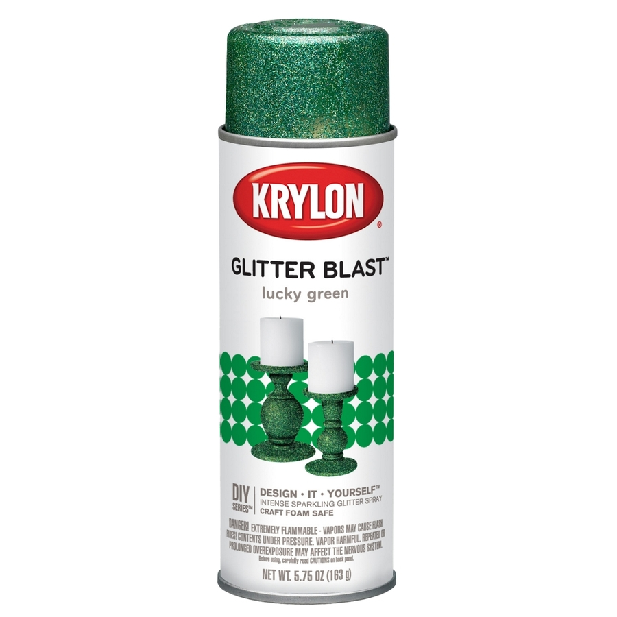 Shop Krylon 575 Oz Lucky Green Gloss Spray Paint At