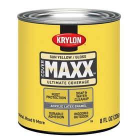 Mixing exterior and interior latex paint