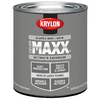 Krylon Classic Gray Gloss Latex Enamel Interior/Exterior Paint and Primer in One (Actual Net Contents: 23-fl oz)