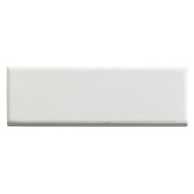 United States Ceramic Tile Color White Ceramic Wall Tile (Common: 2-in x 4-in; Actual: 6-in x 2-in)
