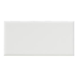 United States Ceramic Tile Color White Ceramic Wall Tile (Common: 3-in x 6-in; Actual: 6-in x 3-in)