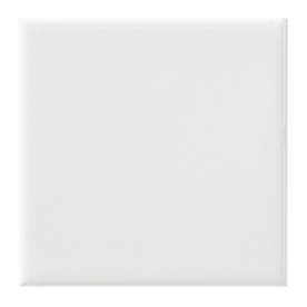 United States Ceramic Tile 4-in x 4-in Color White Ceramic Wall Tile