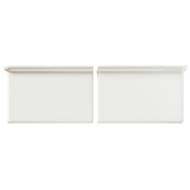 United States Ceramic Tile 4-in x 8-in Biscuit Ceramic Wall Tile (Actuals 6-in x 4-in)