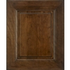 Schuler Cabinetry Sorrento 17.5-in x 14.5-in Eagle Rock Sable Glaze Cherry Square Cabinet Sample