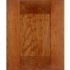 Schuler Cabinetry Manhattan 17.5-in x 14.5-in Chestnut Cherry Shaker Cabinet Sample