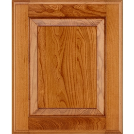 shop schuler cabinetry princeton 17 5 in x 14 5 in pecan