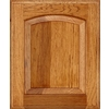 Schuler Cabinetry Carmel 17.5-in x 14.5-in Pecan Hickory Arch Cabinet Sample