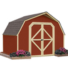 Backyard Organizer 10-ft x 8-ft Wood Storage Shed (Actuals 10-ft x 8-ft)