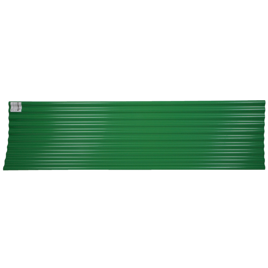 Corrugated Plastic Roofing Lowe S : Shop tuftex roof panels at lowes