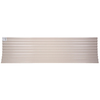 Tuftex 96-in Opaque Tan Corrugated PVC Roof Panel