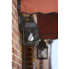Portfolio Litshire 15.62-in H Oil-Rubbed Bronze Outdoor Wall Light
