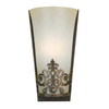 Portfolio 5-1/4-in W 1-Light Golden Bronze Pocket Wall Sconce