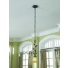 allen + roth Eastview 6.12-in Dark Oil-Rubbed Bronze Mini Tinted Glass Pendant