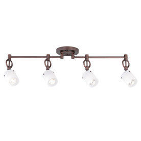 allen + roth 4-Light Linear Track Lighting Head