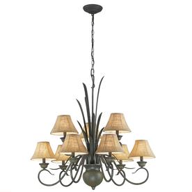 Portfolio 9-Light Specialty Bronze Chandelier