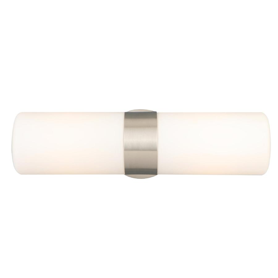 Vanity Lights For Bathroom Brushed Nickel : Shop Style Selections 2-Light Brushed Nickel Bathroom Vanity Light at Lowes.com