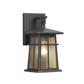 Shop Portfolio Amberset 10 5 in H Specialty Bronze Outdoor