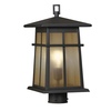 Portfolio Amberset 16.25-in H Specialty Bronze Post Light