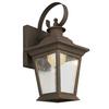 Portfolio 13-in H LED Rust Dark Sky Outdoor Wall Light ENERGY STAR
