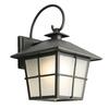 Portfolio 11.75-in H LED Black Outdoor Wall Light ENERGY STAR