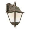 Portfolio 14-in H LED Bronze Outdoor Wall Light ENERGY STAR