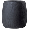 19-in H x 19-in W x 19-in D Dark Gray Clay Pot