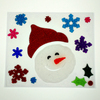 Holiday Living Christmas Window Gel Clings Assorted