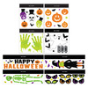 Assorted Halloween Gel Window Clings