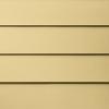James Hardie Primed Harris Cream Fiber Cement Siding Panel (Actual: 6-in x 144-in)
