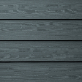 Shop james hardie primed evening blue fiber cement siding for Fiber cement shiplap siding