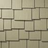 James Hardie 15.25-in x 48-in Primed Woodgrain Fiber Cement Shingle Siding