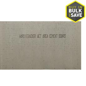 James Hardie HardieBacker 0.42-in x 36-in x 60-in Fiber Cement Backer Board