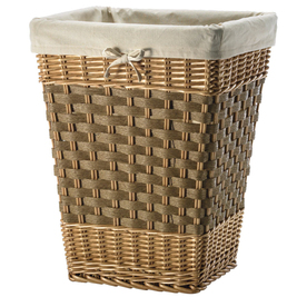 Real Organized 2-Bushel Wicker Clothes Hamper
