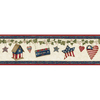 allen + roth 6.25-in Prepasted Wallpaper Border