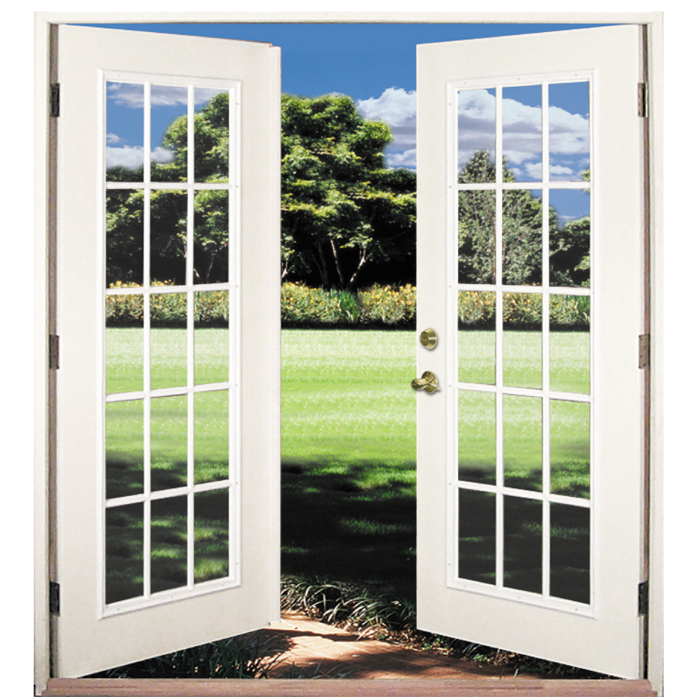 Swing out patio doors milgard out swing doors for Exterior french patio doors