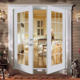Shop reliabilt 5 39 reliabilt french patio door wind code for Insulated double doors