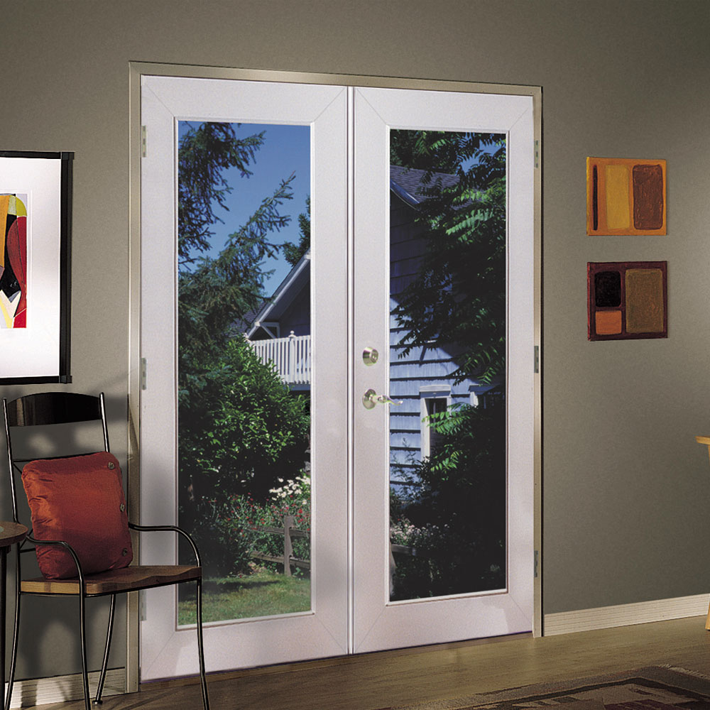 shop reliabilt 6 39 reliabilt french patio door vinyl 1 On vinyl french doors