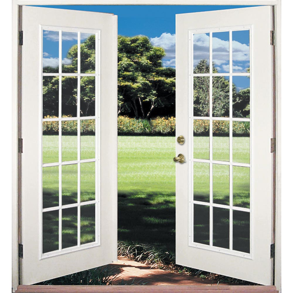 Shop reliabilt 6 39 reliabilt french patio door florida for Insulated french doors