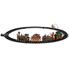 Carole Towne Christmas Plastic Lighted Musical Railroad Set