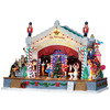 lowes deals on Porcelian Lighted Musical Nutcracker Suite Christmas Collectible