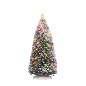 Carole Towne Christmas Plastic Lighted Lighted Battery Operated Tree