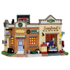 Carole Towne Christmas Porcelain Lighted Sanfords Garage