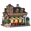 Carole Towne Christmas Porcelain Lighted Malone's Pub