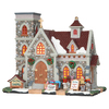Carole Towne Christmas Porcelain Lighted Pine Grove Chapel