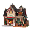 Carole Towne Porcelain Lighted Christinas Christmas Shoppe