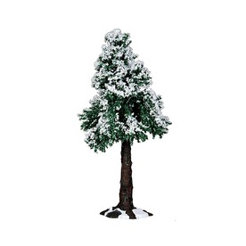 Carole Towne Metal Winter Redwood Tree Christmas Collectible