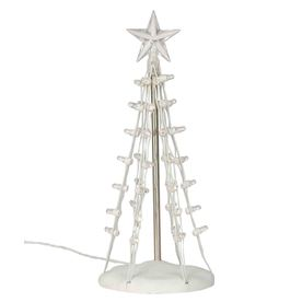 Carole Towne Christmas Plastic Lighted Silhouette Tree Christmas Collectible